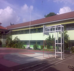 Salah satu sudut di SMAN 82, Jakarta (Foto: kaskus)