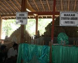 Situs Makam Aer Mata Ratu Ibu. (Foto: Subairi/Koran SI)