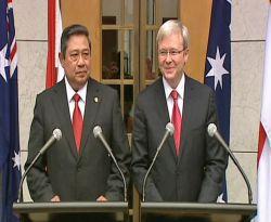 Presiden SBY dan PM Kevin Rudd (Foto: abc.net)