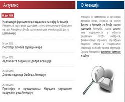 Tampilkan Kekayaan Pejabat, Situs 'KPK' Serbia Jebol