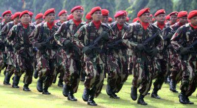 HUT Kopassus ke-58 di Cijantung, Jakarta Timur (Foto: Koran SI)