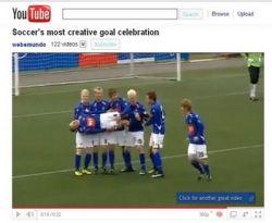 Selebrasi Gol Tim Islandia Jadi Buah Bibir di YouTube