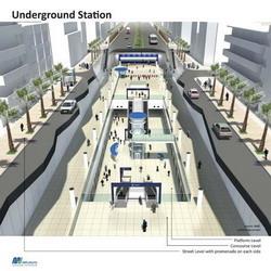 Desain MRT Jakarta (Ist)