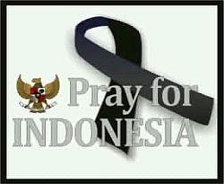 'Pray for Indonesia' Bentuk Belasungkawa Netter