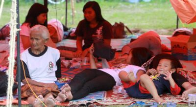 Pengungsi Merapi. (Foto: reuters)