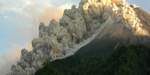 Gunung Merapi (Foto: Badan Geologi)
