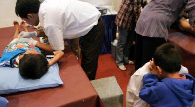 Salah satu kegiatan sunatan massal yang diadakan MNC Group. (Foto: Koran SI)