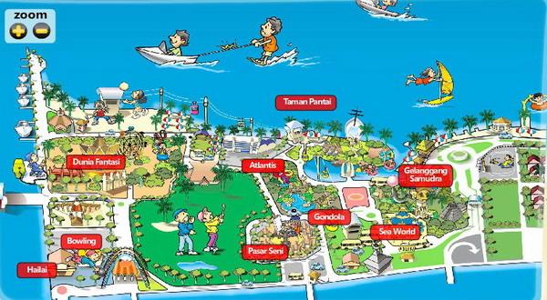 Peta Kawasan Ancol