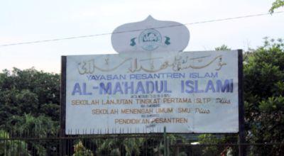 Ponpes Al Ma'hadul Islami, Pasuruan (Foto: Koran SI)