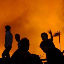Ilustrasi kebakaran (Foto: Dok Okezone)