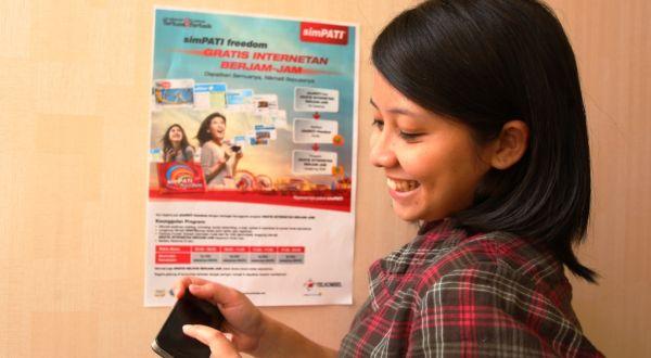 Telkomsel Klaim Sukses Rengkuh 100 Juta Pelanggan