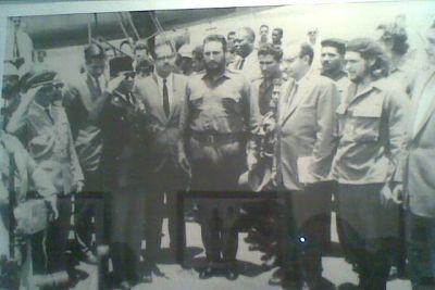 Soekarno Hormat kepada Che Guevara (Foto: Fahmi Firdaus)