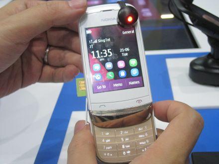 Nokia C2-03, Ponsel Dual SIM Harga Rp900 Ribuan