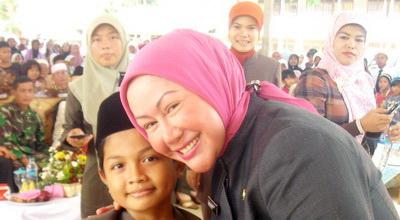 Ratu Atut Chosiyah (Foto: Dok Tim Sukses Atut)