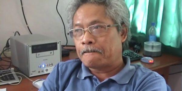 Kepala PVMBG Surono (Foto: Supardi Bado/okezone)