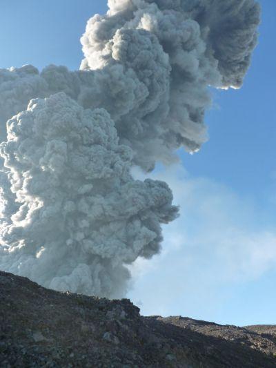 Gunung Marapi (Wahyu Sikumbang/RCTI)