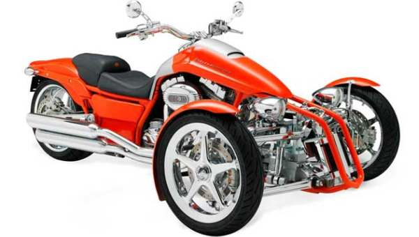 Harley Davidson Tiga Roda