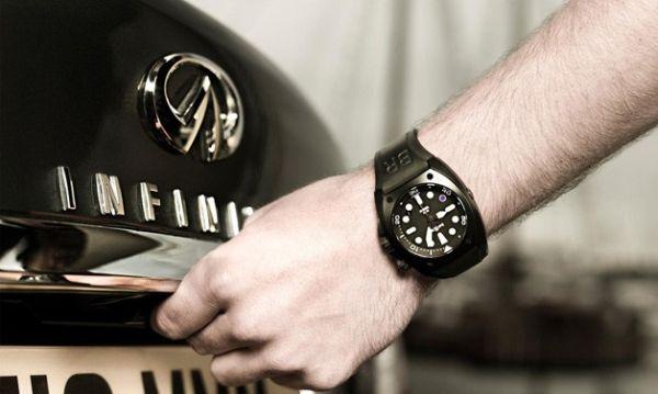 F: Jam tangan BR02-8 Infiniti Carbon Case Purple 8 Pro Dial (Autoblog)