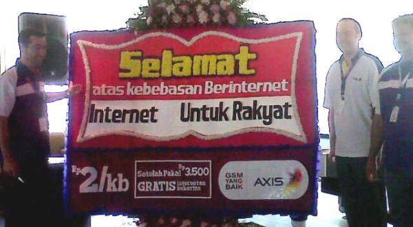 Axis Tawarkan Paket Internet untuk Rakyat