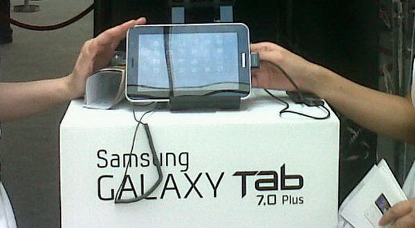 Indonesia Negara Pertama Jual Galaxy Tab Plus 7.0 Plus