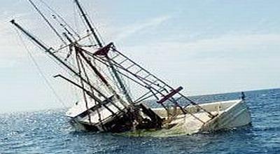 ilustrasi kapal tenggelam (Foto: Ist)