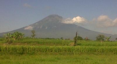 Kondisi Gunung Sindoro setelah berstatus Waspada. (Dok: Sindo TV/Didik D)