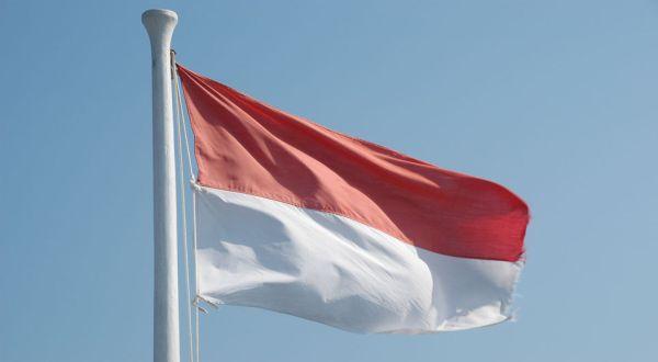 Foto Bendera Indonesia (ist)