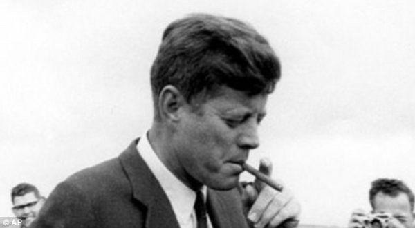 Presiden John F Kennedy (Foto : Daily Mail)