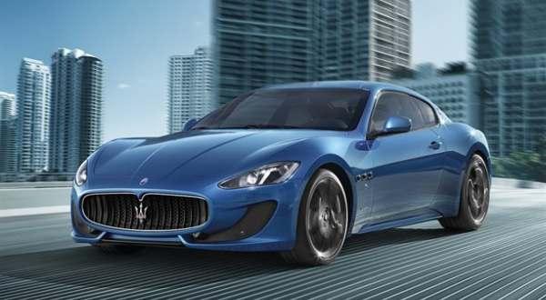 F: Maserati GranTurismo Sport (autocar)