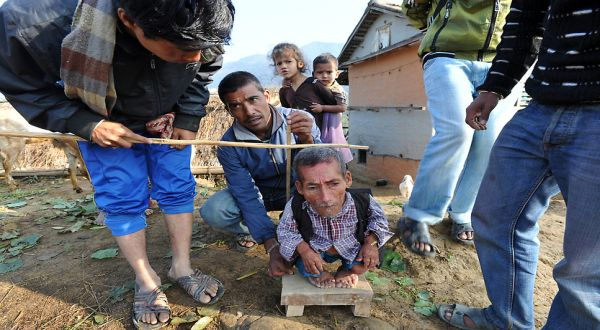 Foto : Chandra Bahadur Dangi (AFP)