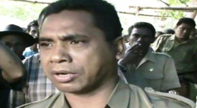 Paulus, perawat Puskesmas Pembantu Desa Tamburi (Dok: Sindo TV/Dion Umbu AL)