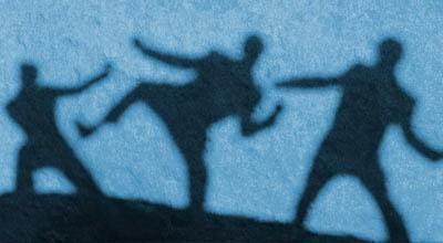 ilustrasi kekerasan (dok:okezone)