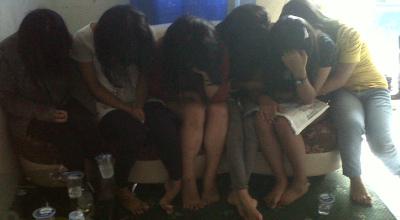Korban perdagangan manusia di Batam (Dok: Sindo TV/Gusti Yennosa)