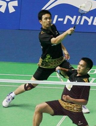 Markis Kido/Hendra Setiawan (Foto: AP)