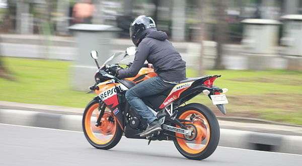 F: Honda CBR150R Edisi Repsol (Septian P/Okezone)