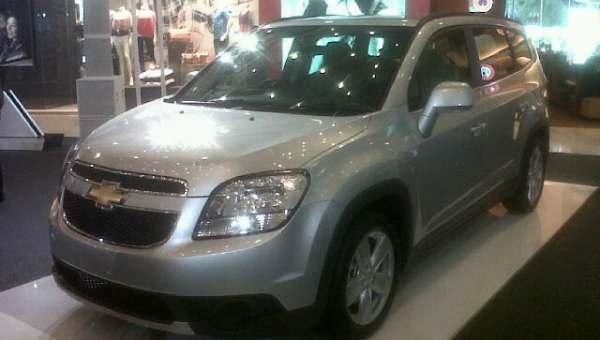 F: Chevrolet Orlando (Septian P/Okezone)