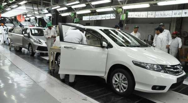 F: Pabrik Honda (daylife)