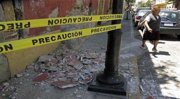 Foto : Gempa Meksiko (Reuters)
