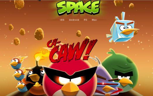 Wuih, Angry Birds Space Sudah Meluncur