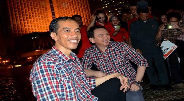 Misteri Baju KotakKotak Jokowi dan Ahok  Okezone News