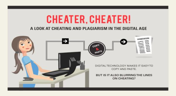 "plagiarism in the digital age Cheating & plagiarism print version policies and information preventing, detecting  ""line on plagiarism blur for students in digital age""."