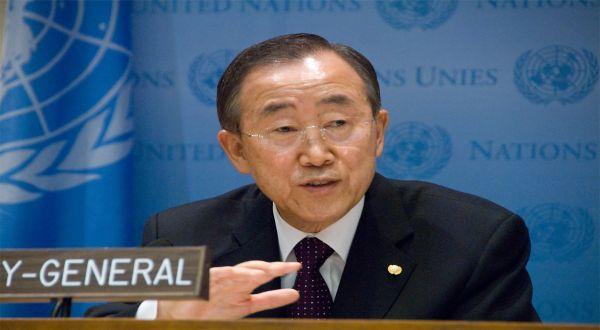 Foto : Sekjen PBB Ban Ki Moon (heegantv)