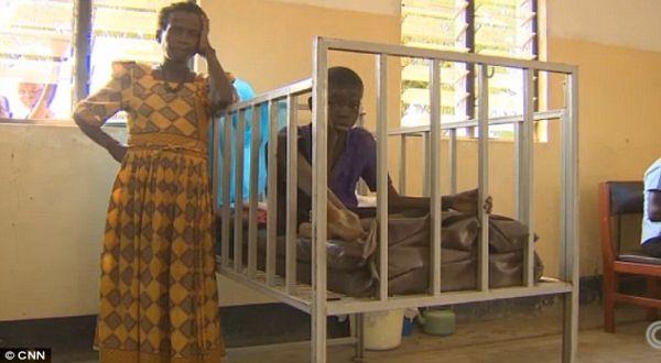 Foto : Korban penyakit mengangguk (CNN)