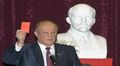 Foto : Pimpinan Partai Komunis Rusia Gennady Zyuganov (reuters)