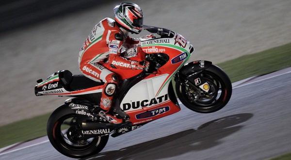Nicky Hayden puas dengan kualifikasi dan bersikap realistis menghadapi balapan sesungguhnya/Reuters