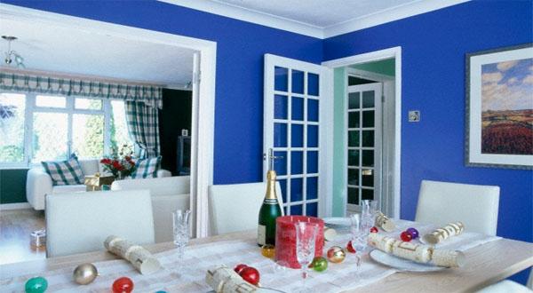 63 Gambar Rumah Warna Biru Laut Terbaru