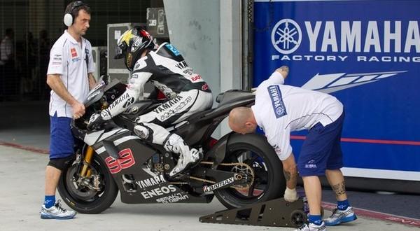 Tim Yamaha mengaku tak menggunakan model gearbox yang sama dengan Honda dan Ducati (Foto: Getty Images)