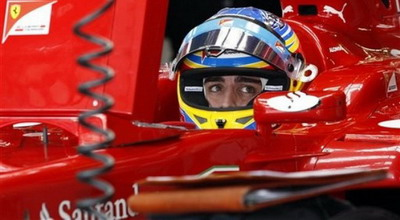 Fernando Alonso. (Foto: Daylife)