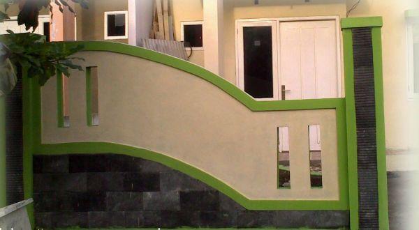 Fasad Segar Dengan Palet Hijau : Okezone Economy