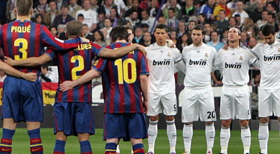 El Clasico antara Real Madrid vs Barcelona (foto: Bleacher Report)